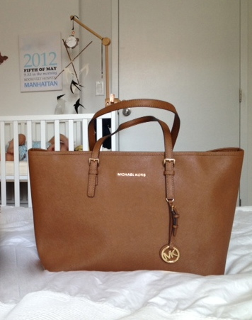 Michael Kors Jet Set Macbook Travel Tote